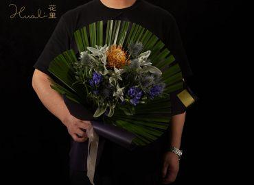 【零基础花艺学习】自然灵感花束-纳海
